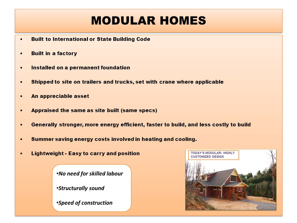 All africa housing pty ltd ppt download for Define prefabricated
