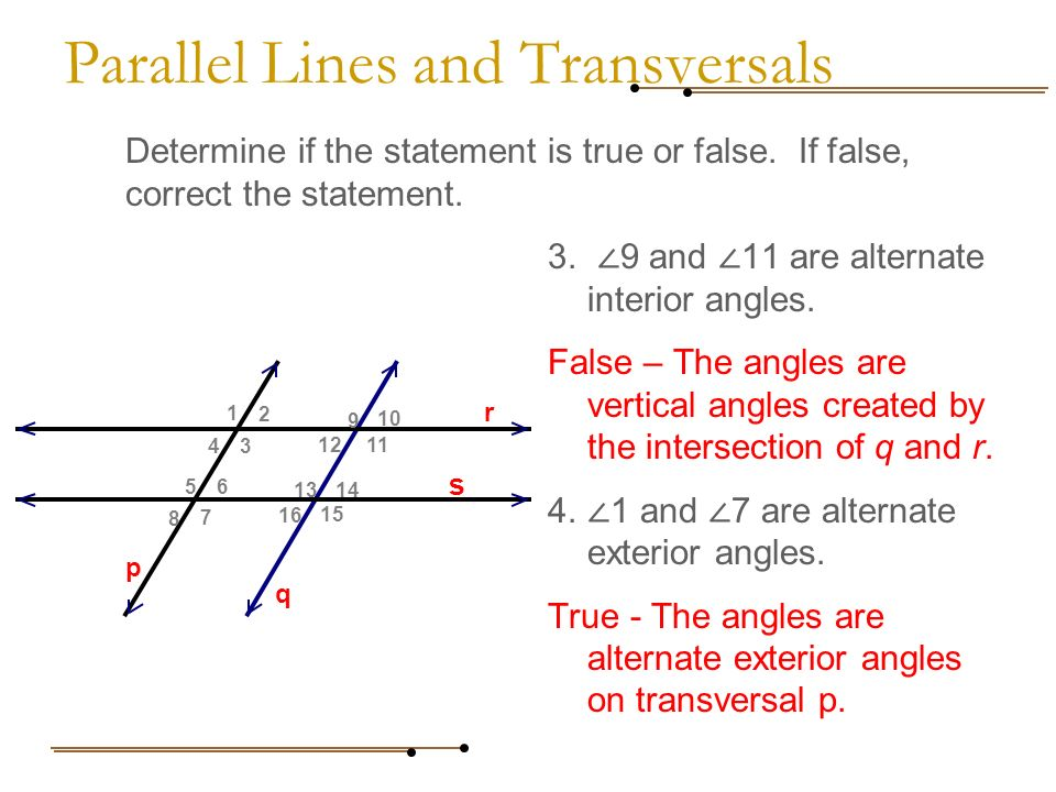 Angles parallel lines amp transversals video  Khan Academy