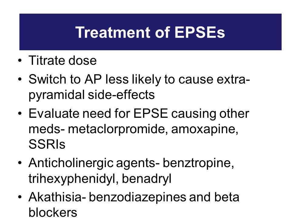 Amoxapine Side Effects