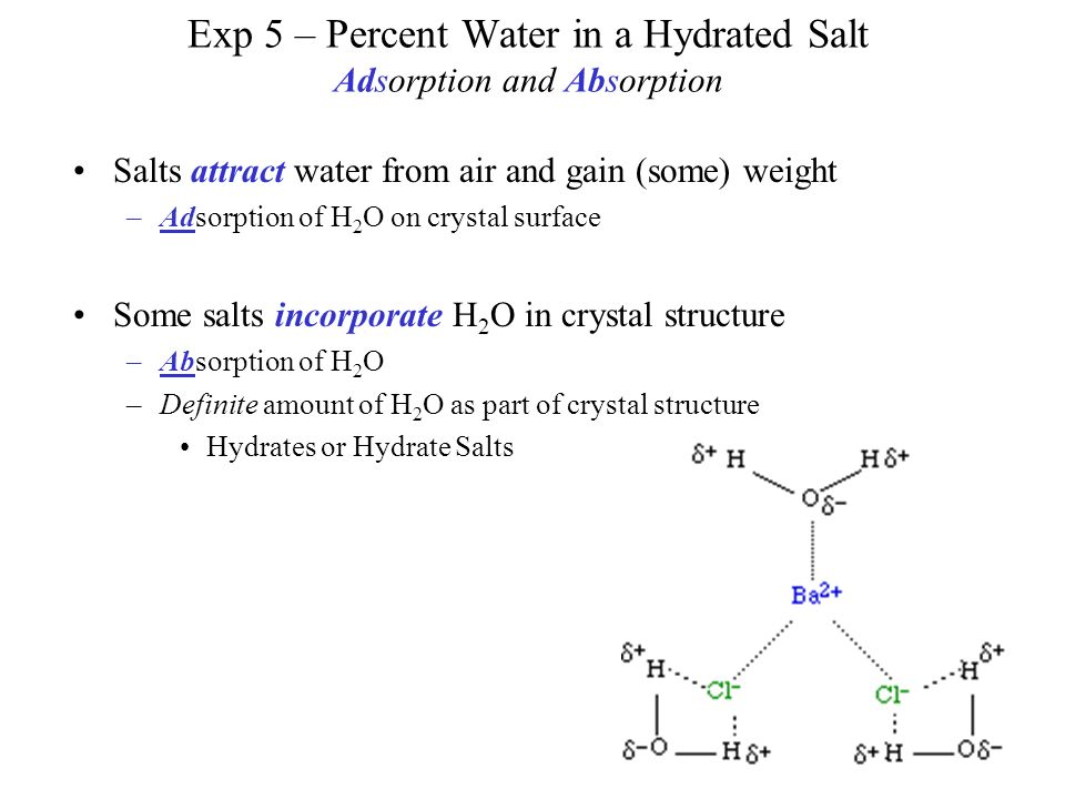 hydrated salts Magnesium sulfate is an inorganic salt with the formula mgso 4 (h 2 o) x where 0≤x≤7 it is often encountered as the heptahydrate sulfate mineral epsomite (mgso 4  h 2 o), commonly called epsom salt epsom salt (heptahydrate) english salt bitter salts bath salts.