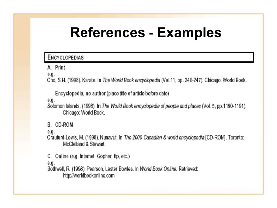 a journey through modified apa style of referencing u2026