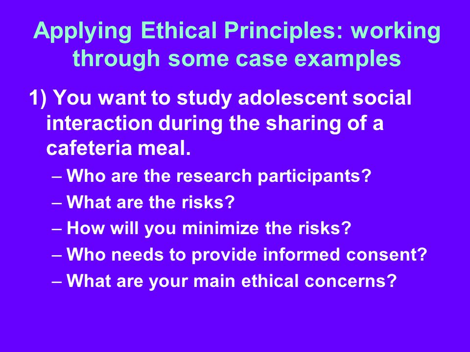 Applying theoretical ethics to applied ethics - Essay Example