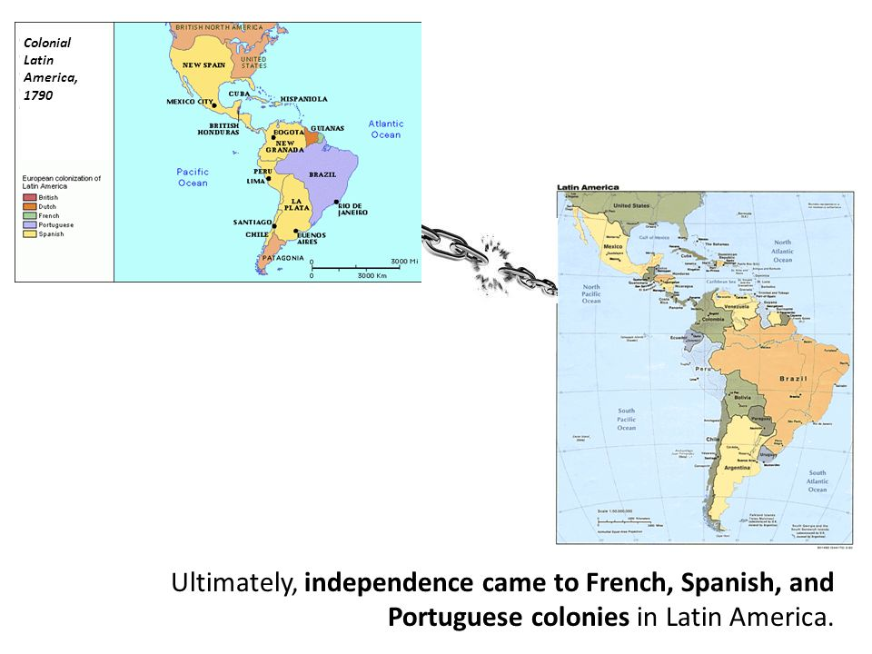 Colonial South America Map.Colonial Latin America College Paper Sample 2503 Words