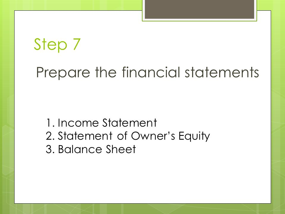Accounting Cycle. - ppt video online download