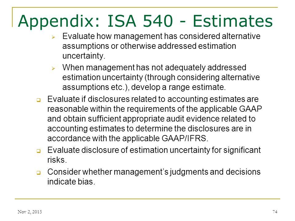 significant accounting judgments estimates and assumptions Assumptions underlying critical accounting estimates on the outcome of accounting estimates if significant accounting policies, judgments and estimates.
