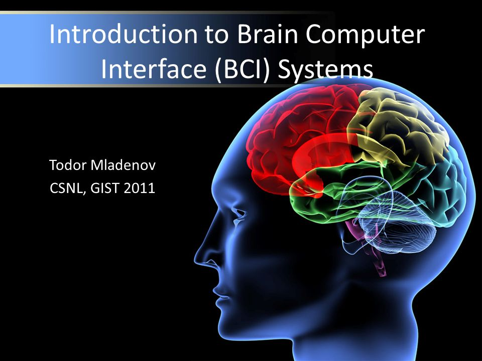 Introduction to Brain Computer Interface (BCI) Systems - ppt video ... 8a7873d1f9