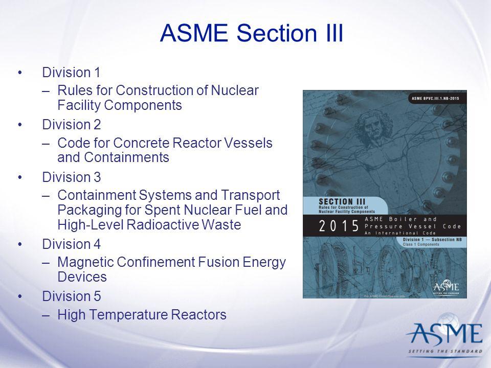 Asme iii – Vervoer van bulklading