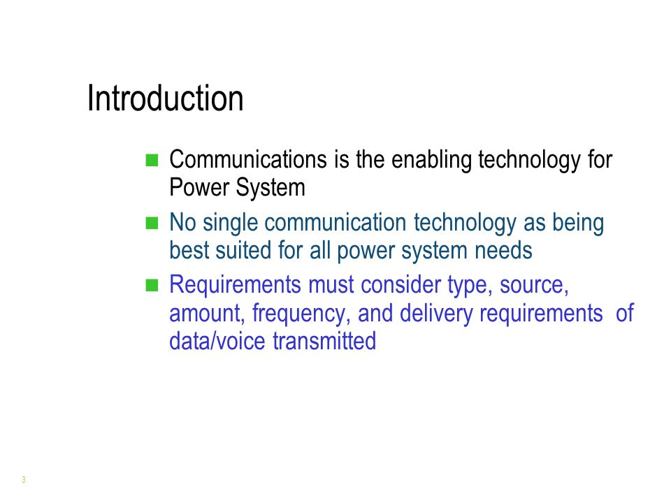 power of communication technology The conventional power systems with sophisticated information and  communication technologies (ict) are expected to evolve into a new grid  paradigm called,.