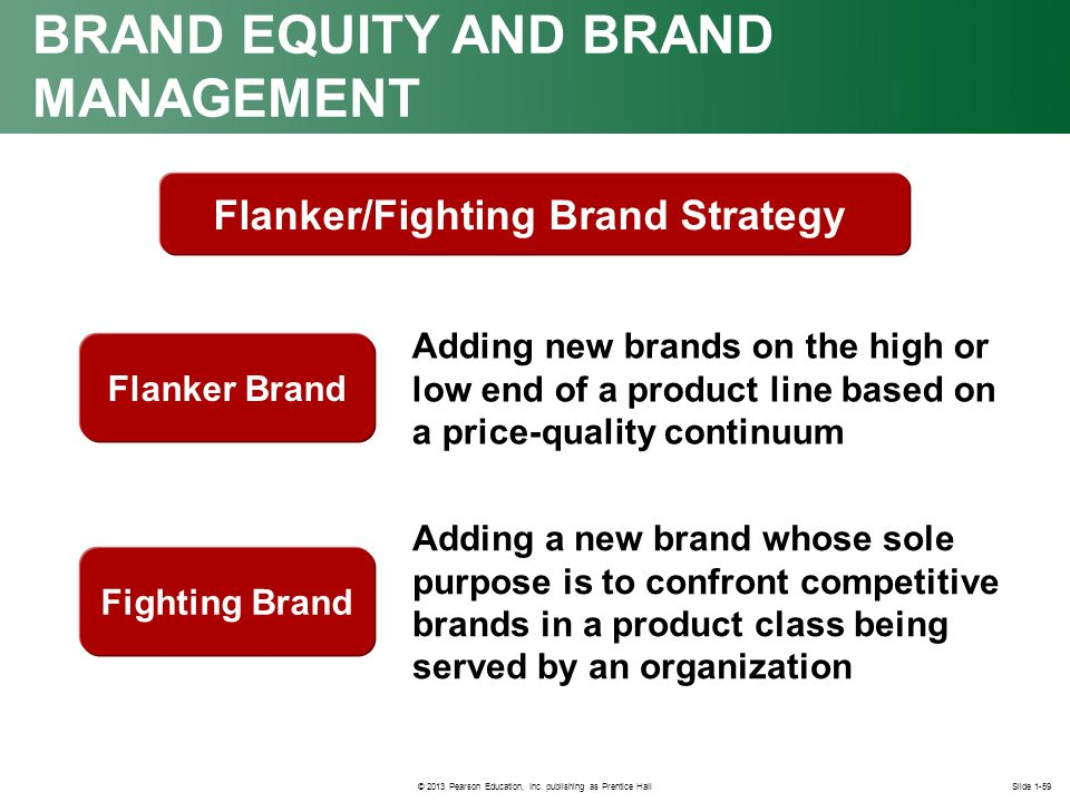 flanker brand Definition of flanker brand: extending a brand to make another product with more market exposure it may be different but is in the same category it can be different in size, flavor, or type but must be similar enough to be under the same.