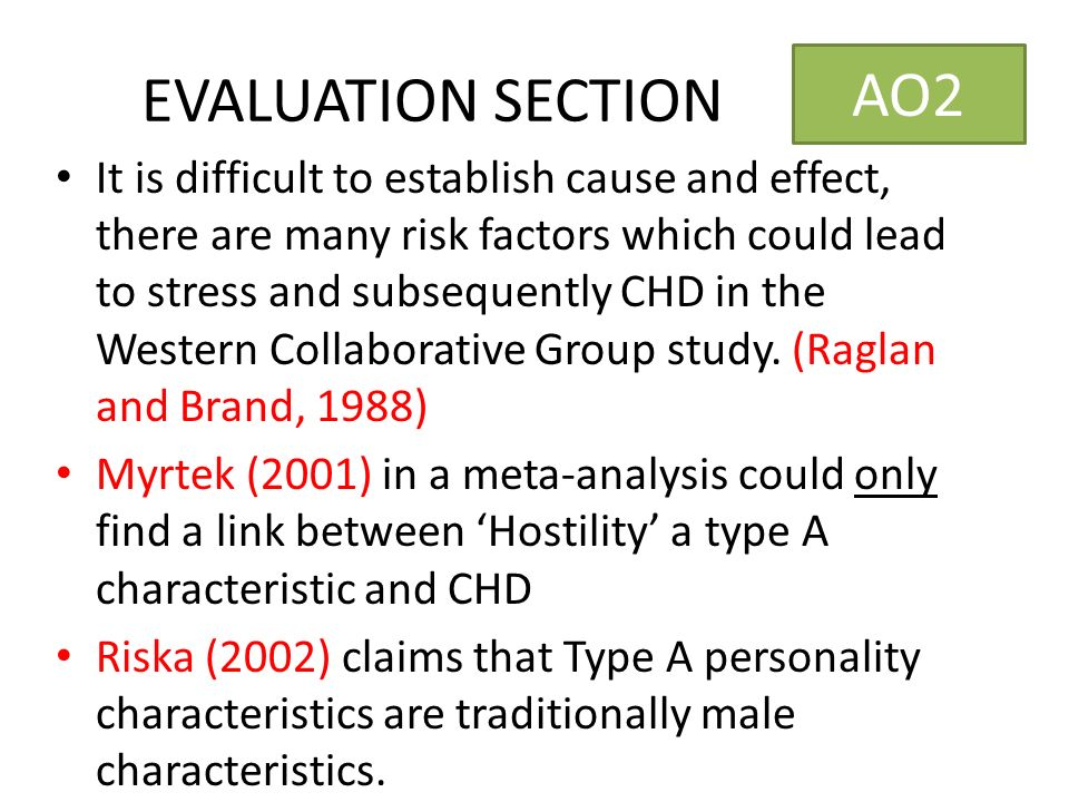 type a personality and its consequences Personality type refers to the psychological classification of different types of individuals personality types are sometimes distinguished from personality traits, with the latter embodying a smaller grouping of behavioral tendenciestypes are sometimes said to involve qualitative differences between people, whereas traits might be construed as quantitative differences.