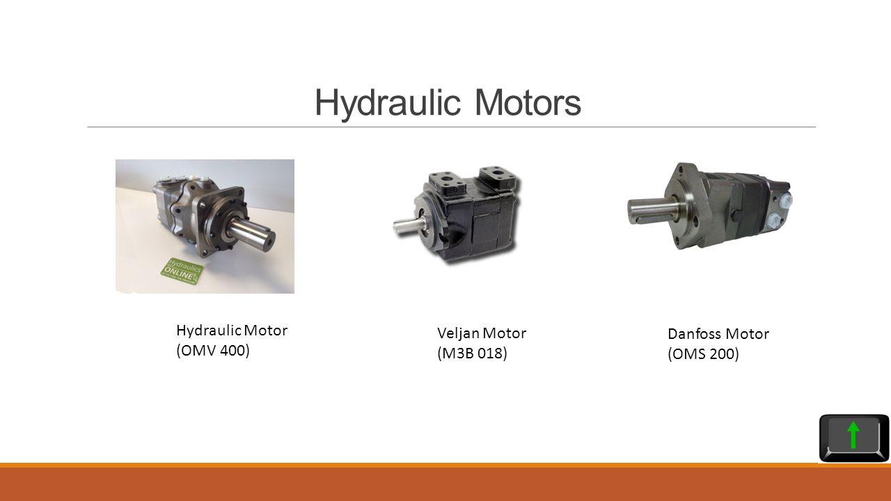 Danfoss Hydraulic Motor Oms 400