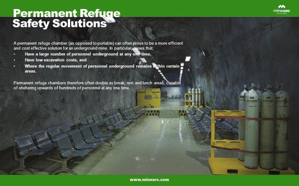 Hard Rock Mine Refuge Chambers Ppt Video Online Download