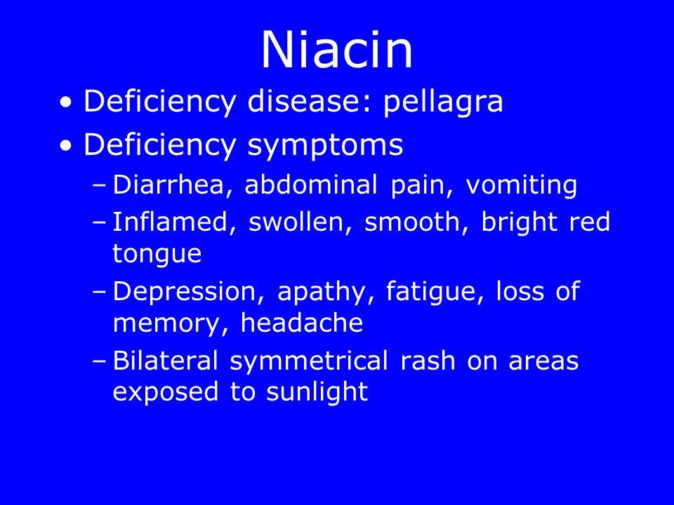 symptoms of niacin deficiency jill scott insomnia