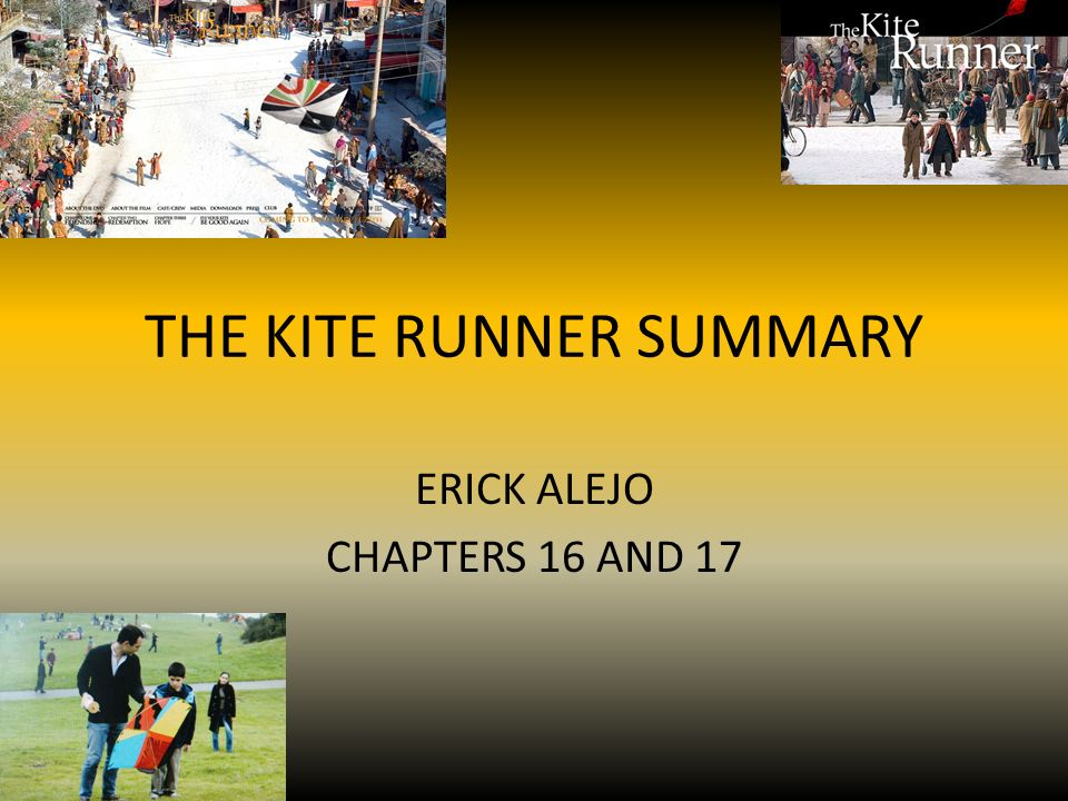 the kite runner chapter summaries The kite runner chapters 8 - 10 summary - the kite runner by khaled hosseini chapters 8 - 10 summary and analysis.