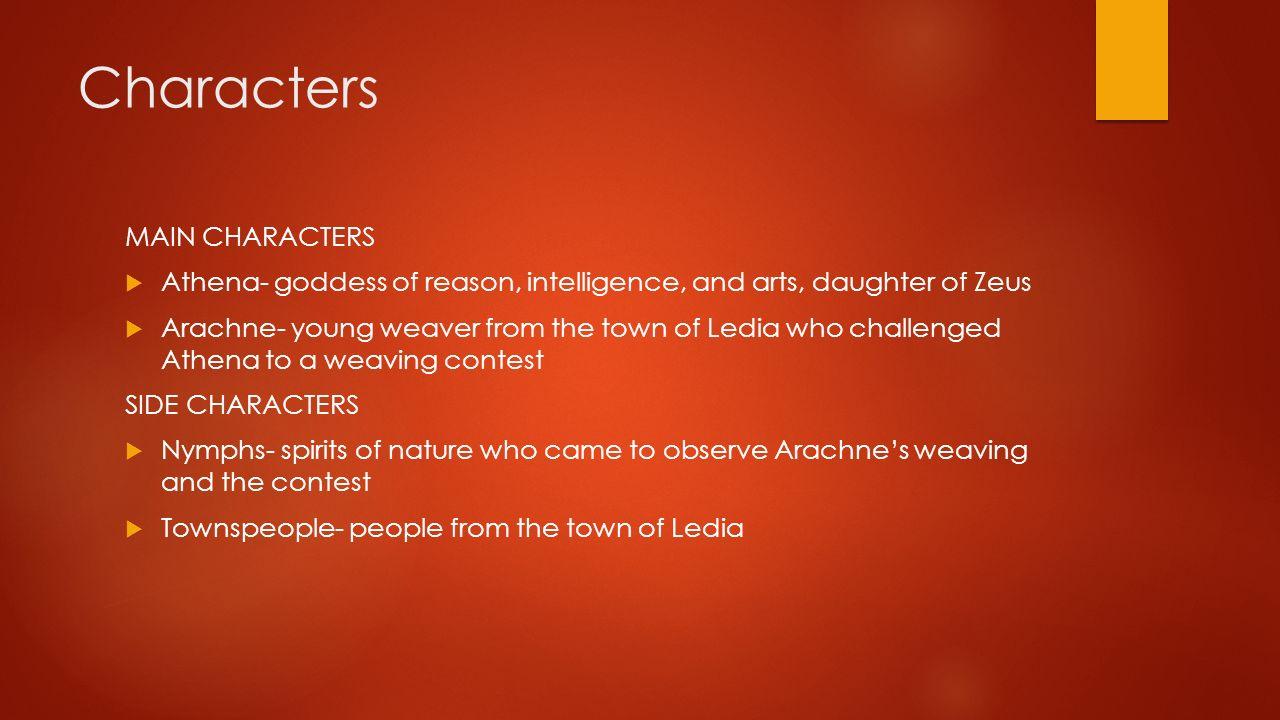 Characters MAIN CHARACTERS