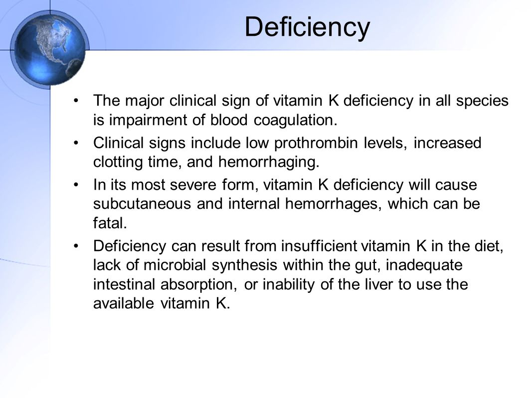 METABOLISM OF VITAMIN K - ppt video online download