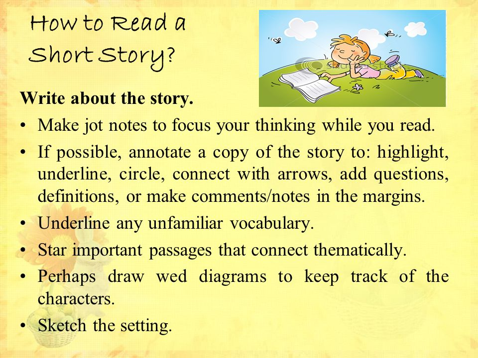 writing essay short stories underlined Here are many examples of short stories for you to read online online has become another leg in our life we have to take that into account so that we will go along the computer has revolutionalised our world the people have started to see another world what we were has become history.