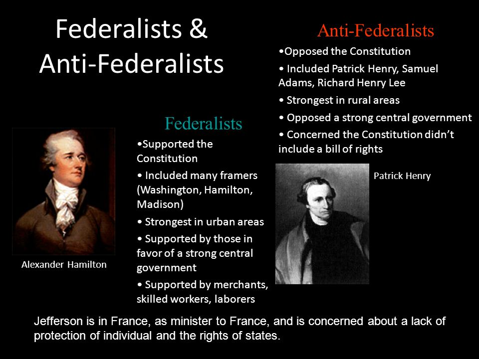 alexander hamilton vs thomas jefferson ppt video online  alexander hamilton vs thomas jefferson 2 federalists