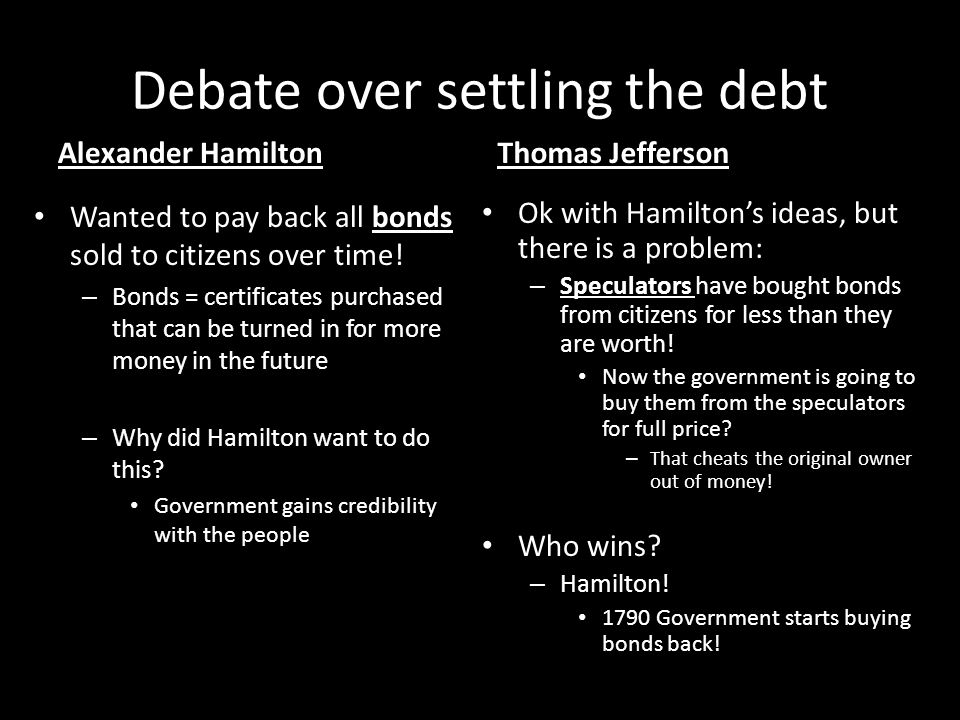 hamilton vs jefferson essay thomas jefferson essays slideplayer