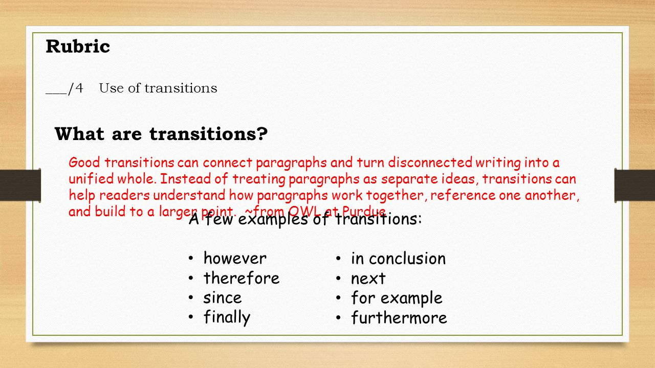 what are some good transitions for an essay What Are Some Good Exploratory Essay Topics?