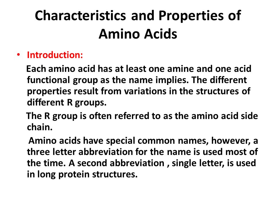 characteristics and properties of amino acids Nutrineal pd4 with 11% amino acids - summary of product characteristics  - a portion of the amino acids in nutrineal is converted to  pharmacological properties.