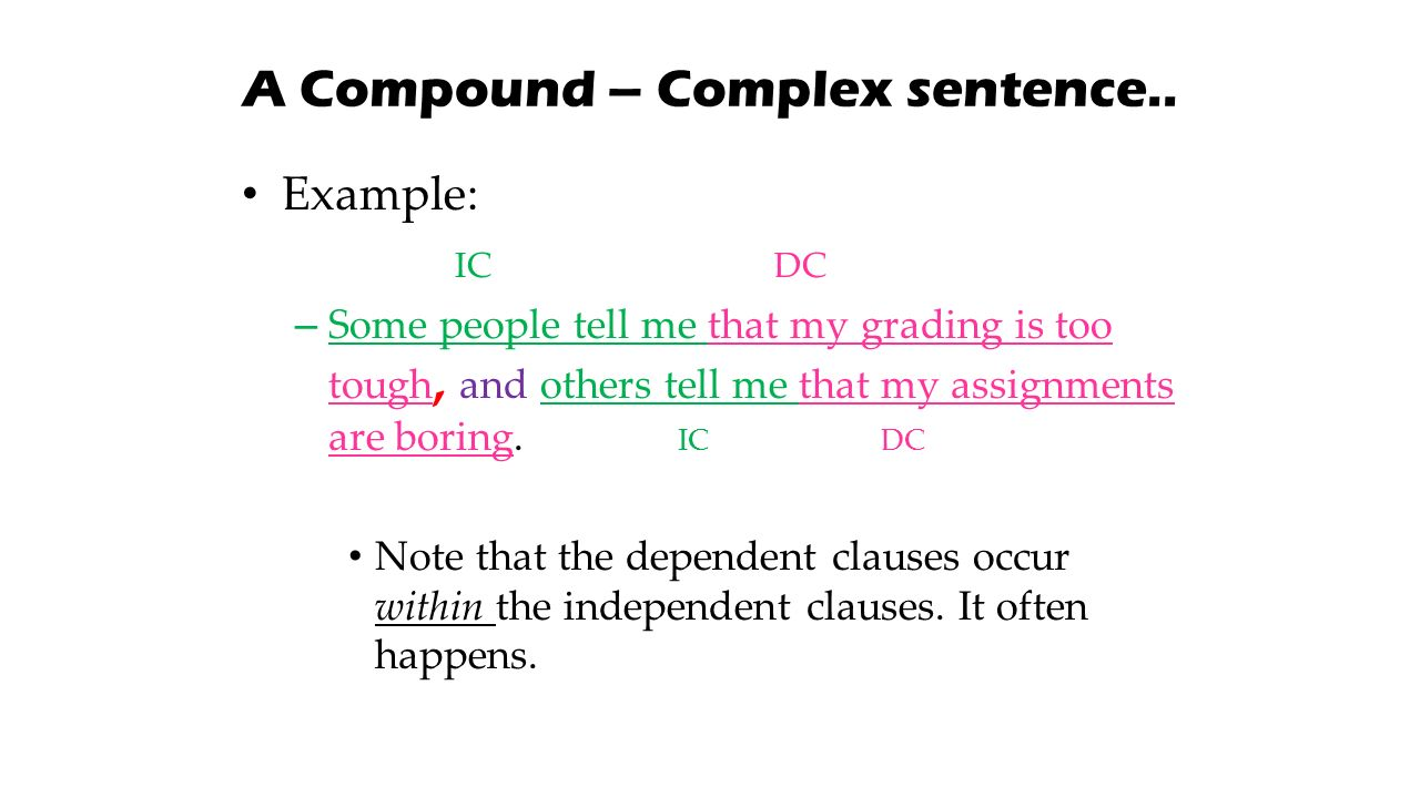 how to find clauses in a sentence