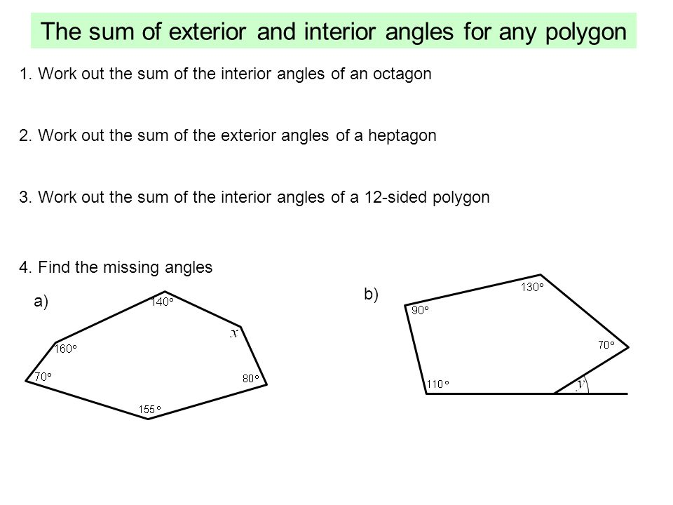 Polygons A Polygon Is A Shape Made From Only Straight Edges Ppt Video Online Download