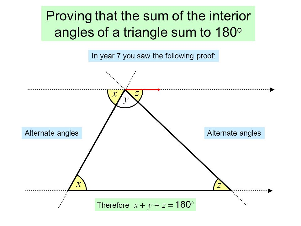 Polygons a polygon is a shape made from only straight - Sum of the exterior angles of a triangle ...