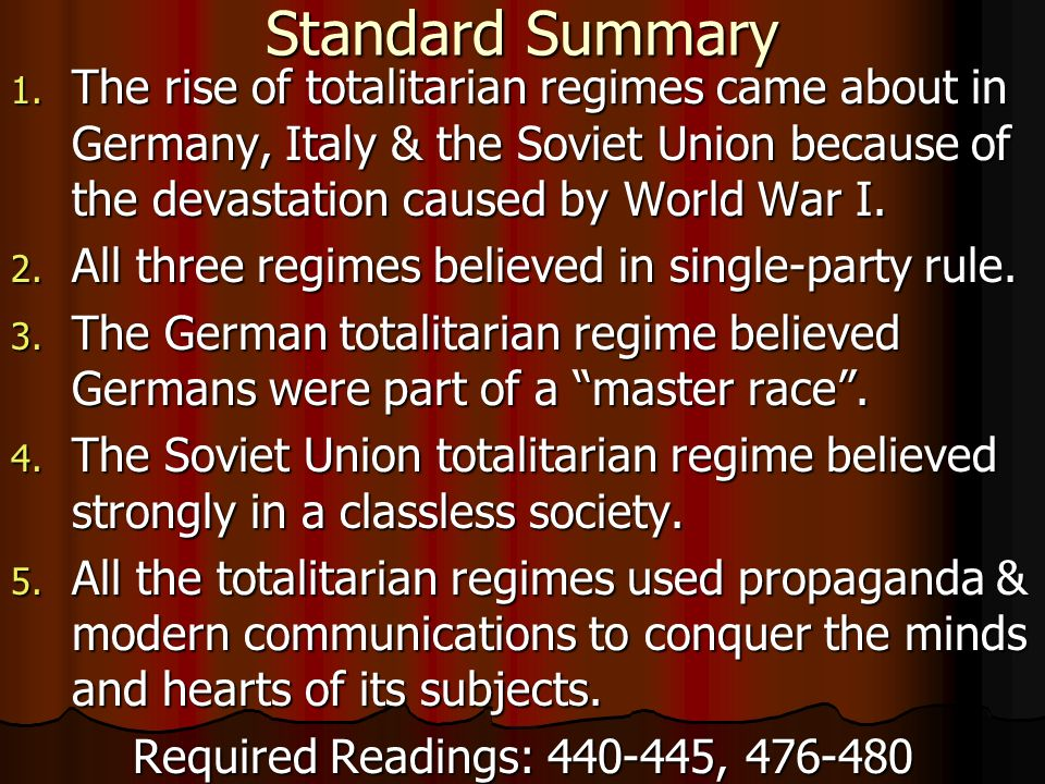 The Origins of Totalitarianism Summary