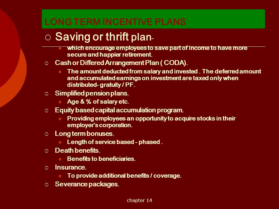 Short term long term incentives ppt download for Long term incentive plan design