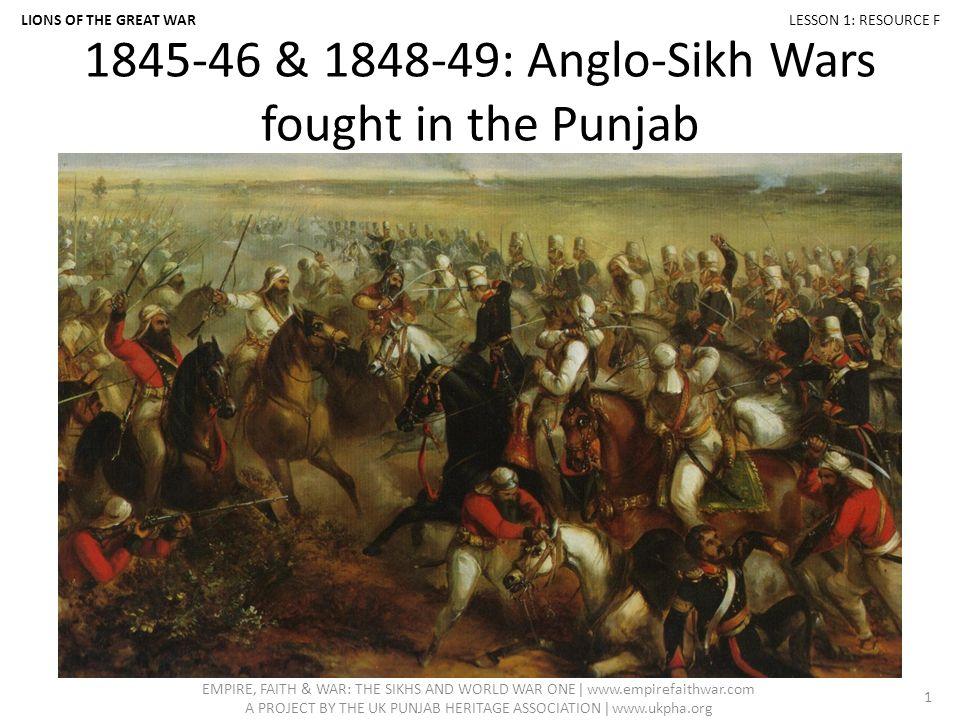 sikh war history