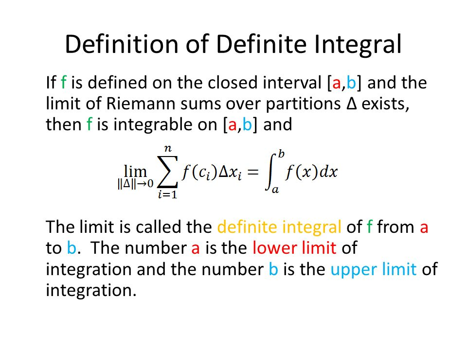 how to change limits of definite integral