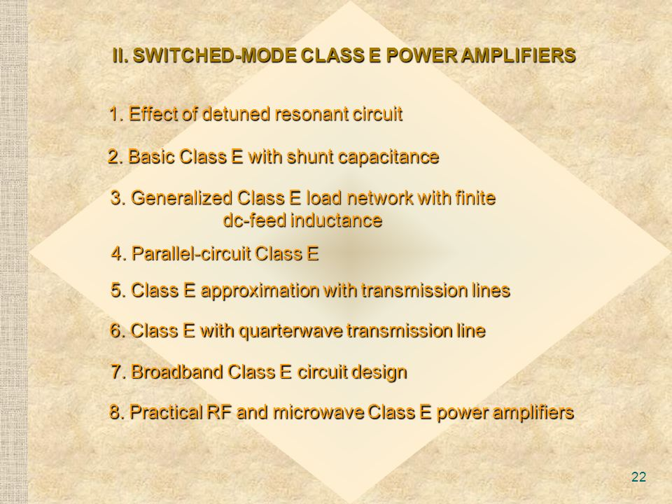 rf and microwave power amplifiers historical aspect and modern trends ppt video online download. Black Bedroom Furniture Sets. Home Design Ideas