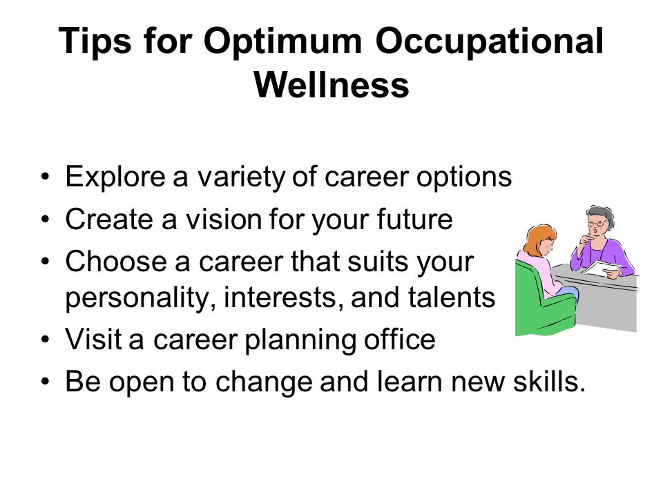 occupational wellness More at wwwthewellnessplexcom in this tv show, we are exploring occupational wellness, one of the 7 dimensions of wellness enjoy the show and hope you.