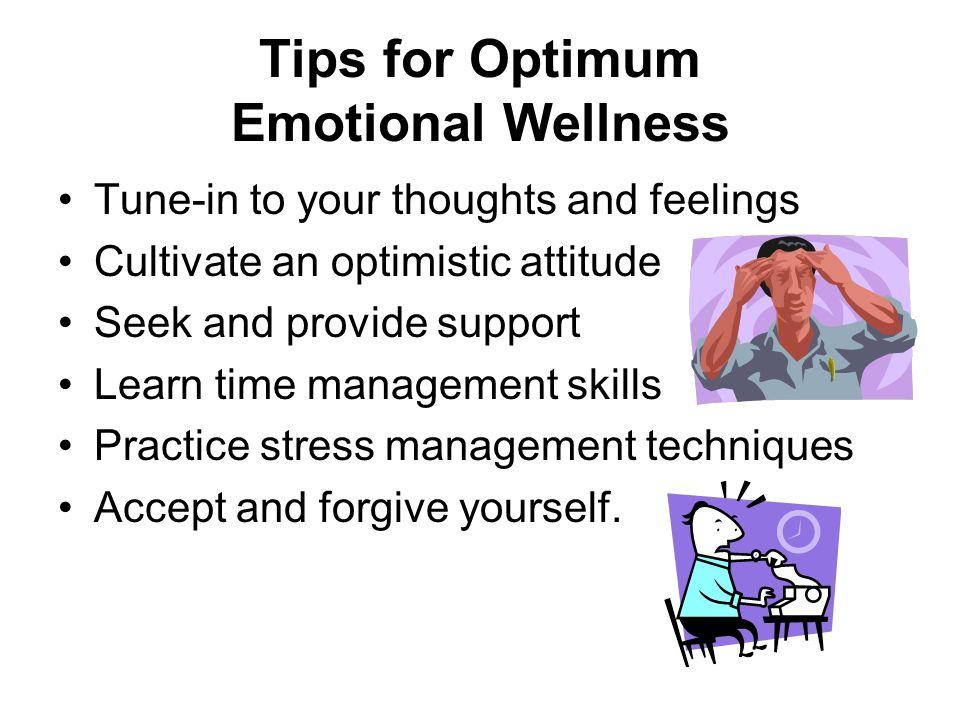 how to achieve emotional wellness