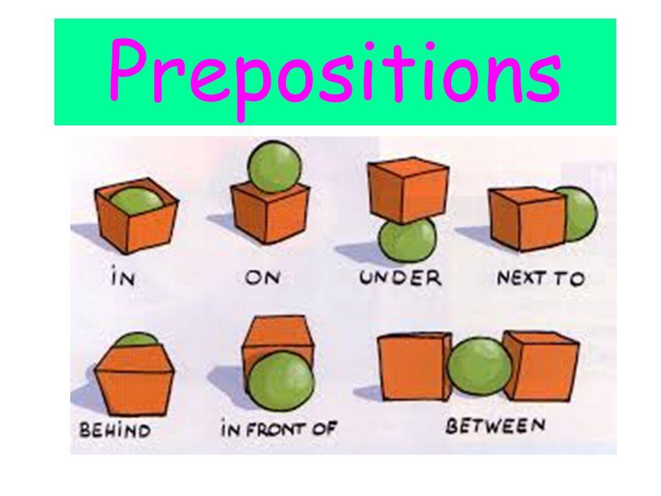 Prepositions. - ppt vi...