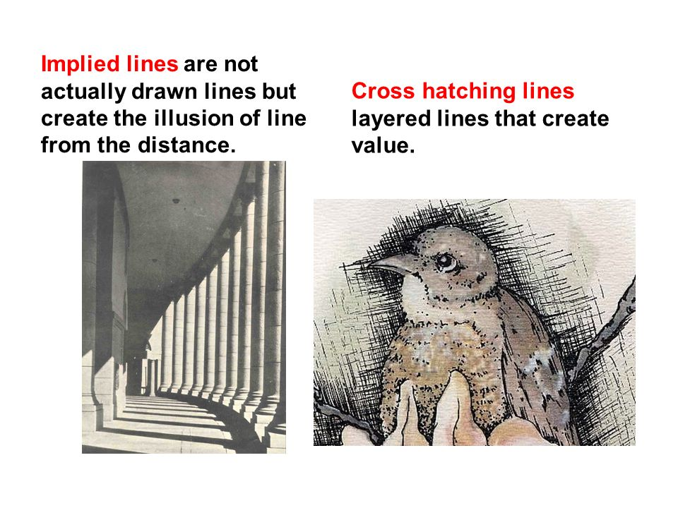 Implied Lines In Art : Line definition the most basic design tool a has