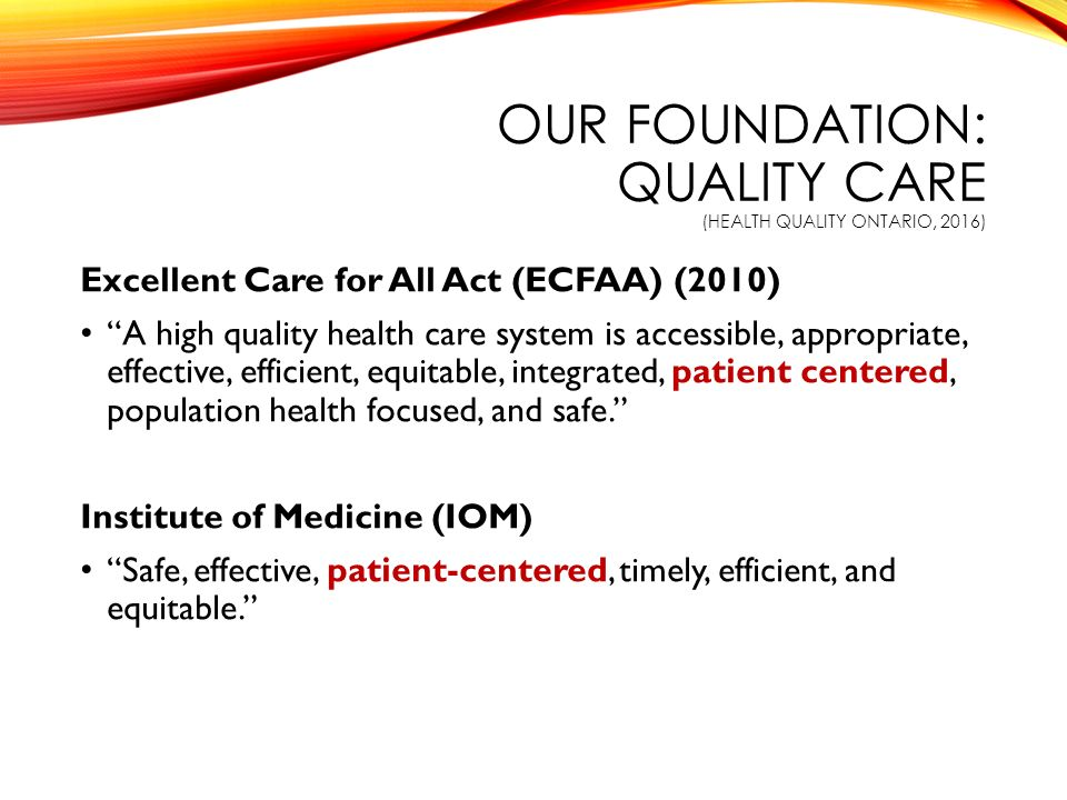 excellent care for all act pdf