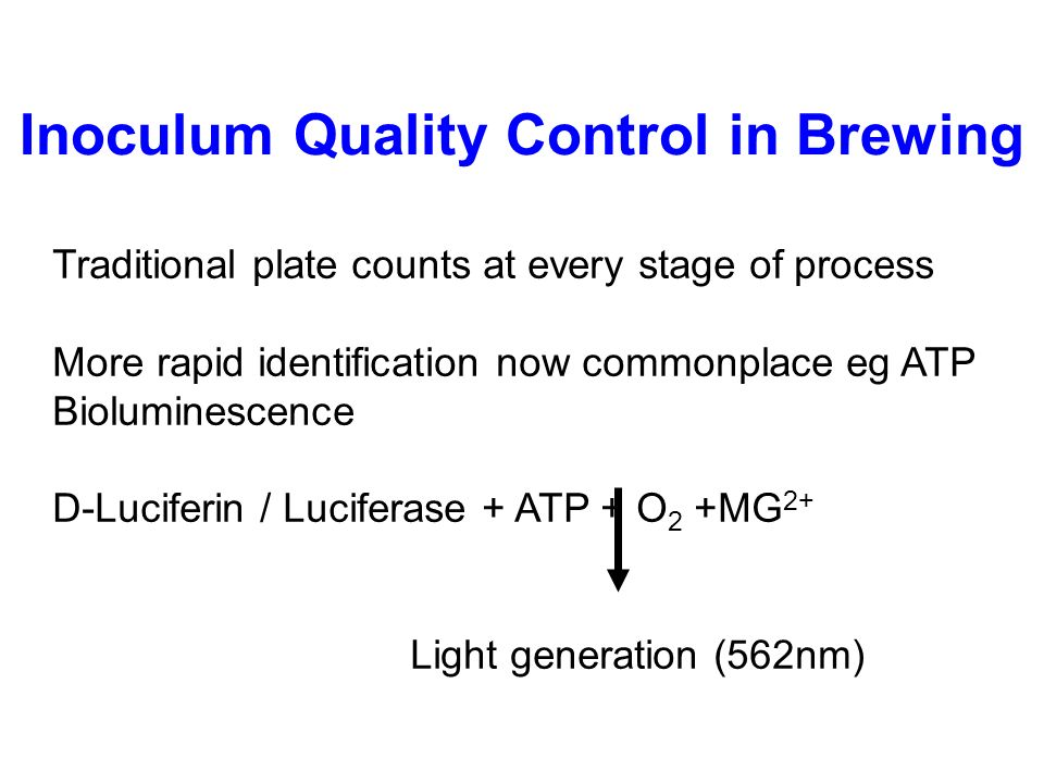 quality control brewing In the end, any level of brewery quality control is a step in the right direction towards what every brewer wants, and that is great quality, consistent, beer if you liked this article, you may like: systems for brewery wastewater management.