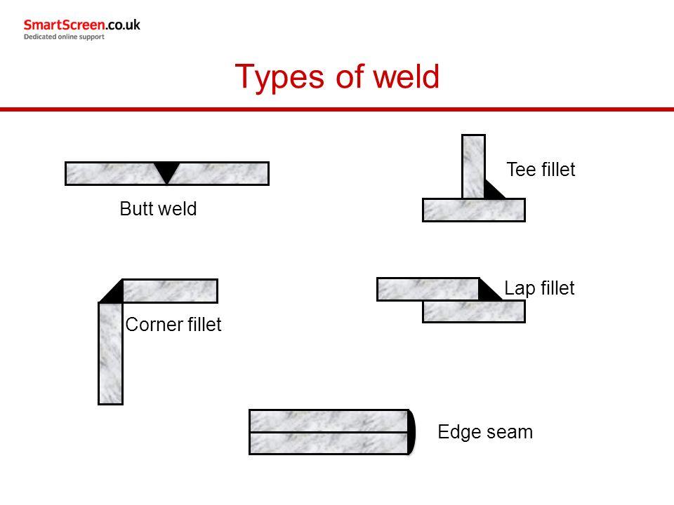 types of welds