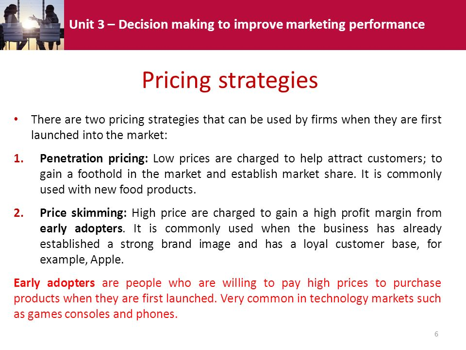 3.4 – Using the marketing mix: Price - ppt video online ...