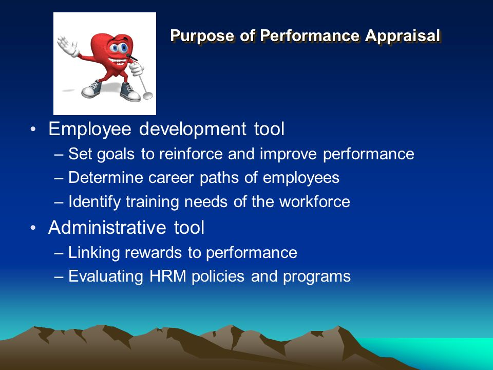 the purpose of appraisal schemes for identifying employee training needs Training needs analysis training needs analysis training needs analysis is a systematic approach for determining what training needs to take place when planning training there is value in identifying and considering business needs current competencies training methods cost effectiveness.