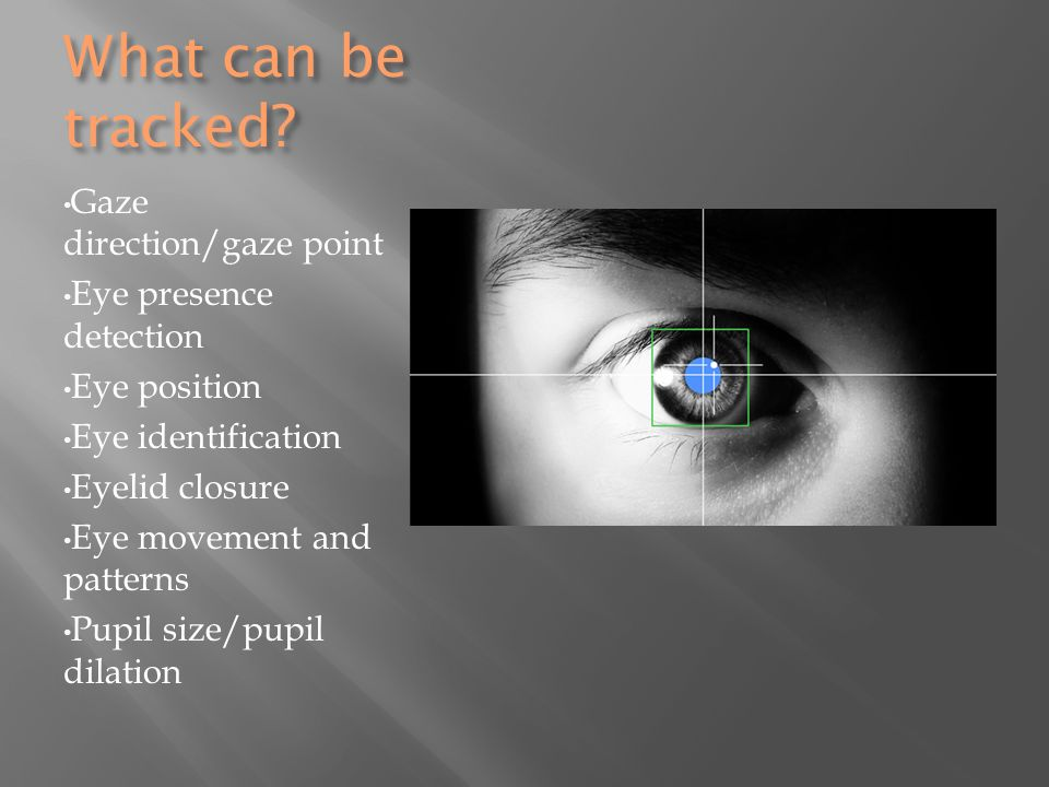 Tracking Devices For Cars >> Eye-Tracking Devices An Assistive Technology - ppt download