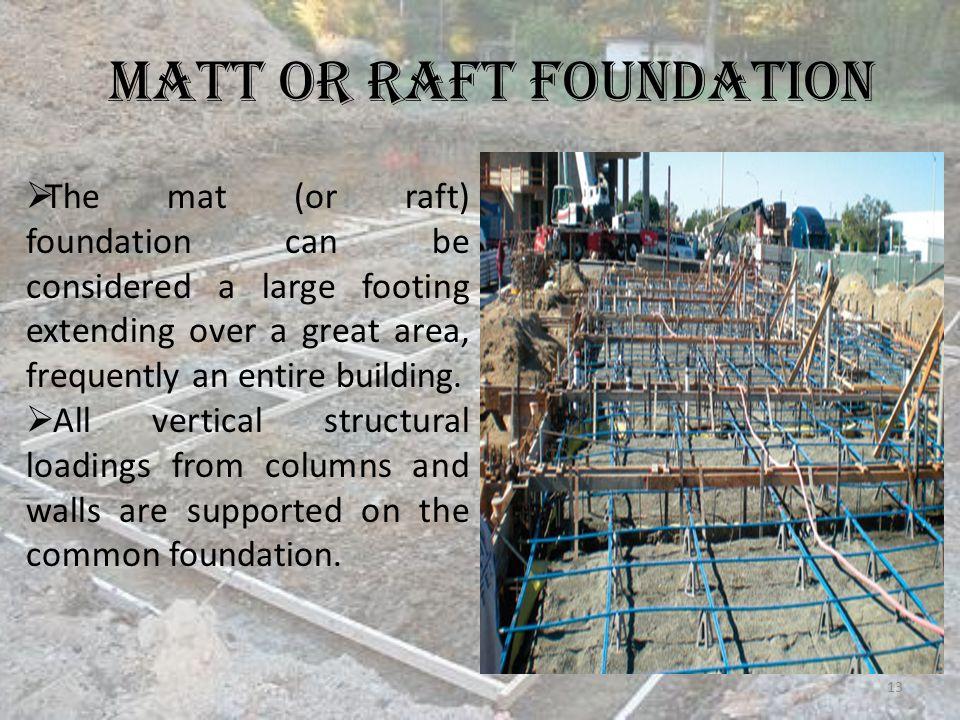 raft foundation advantages disadvantages pdf