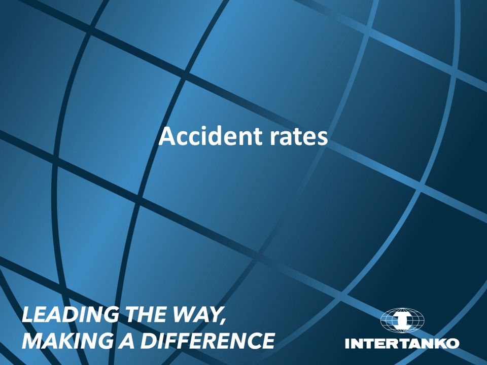 accident rates Average accident rates the tables contain accident rates for state highways,  based on facility type and intersection type note that the first three pages show.