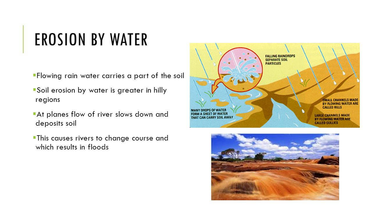 Soil erosion conservation ppt video online download for Soil and water facts