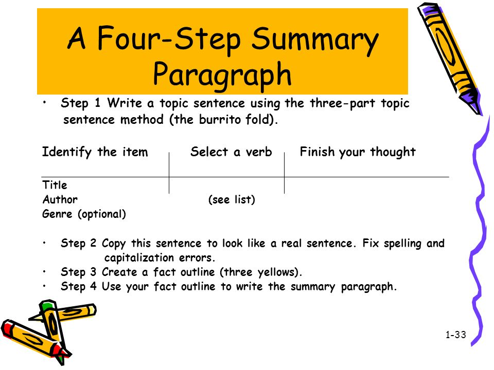 step up to writing rubric The goal is to come up with the overall main idea of a short reading section  without going over the  (explanation from step up to writing) summary rubrics .