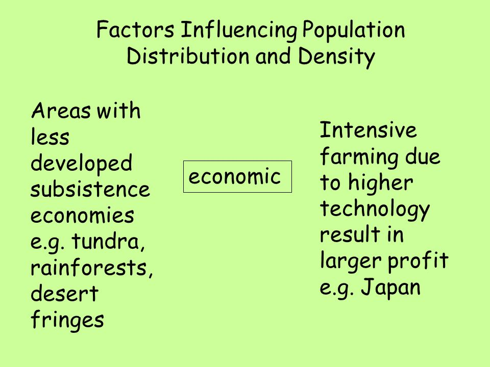 factors affecting population distribution in india This is an animated video of kriti educational videos that explains about the population distribution in india it also tells about the different factors wh.