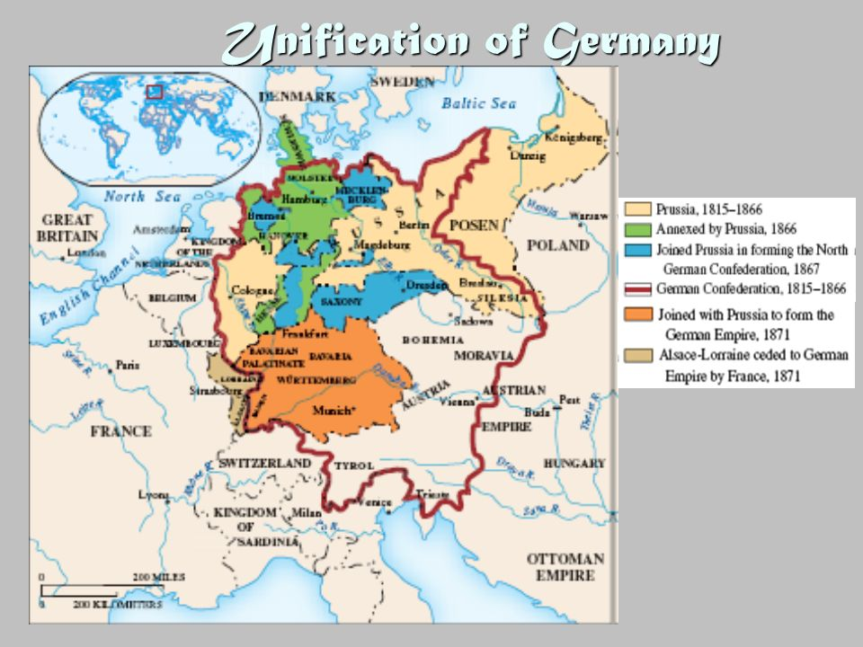To what extent was Bismarck responsible for the unification of Germany? Essay Sample