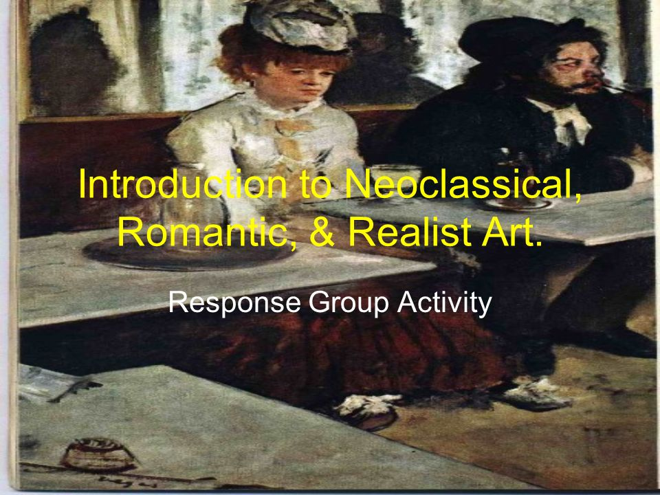 influence of neoclassicism on romanticism